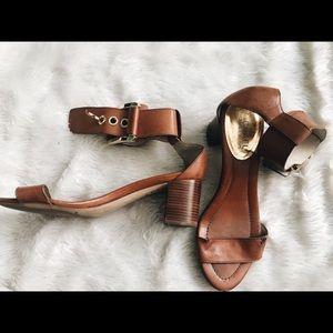 Michael Kors buckle sandal heels